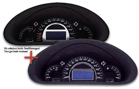 Tachodekorset Chrom für Mercedes Benz C-Klasse W203 (2000 -
