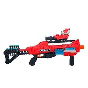 X-Shot - Pistola Regenerator con 60 dardos (ColorBaby, 46270)