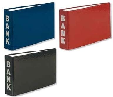 Bürobedarf ordner  3 Bankordner 140x250mm Ordner für Kontoauszüge blau bourdeaux ...