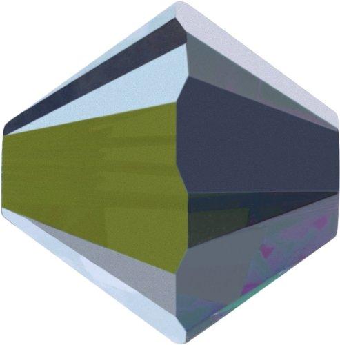 Original Swarovski Elements Beads 5328 MM 4,0 - Olivine (228) ; Diameter in mm: 4.0 ; Packing Unit: 1440 pcs. Crystal Vitrail Medium (001 VM)
