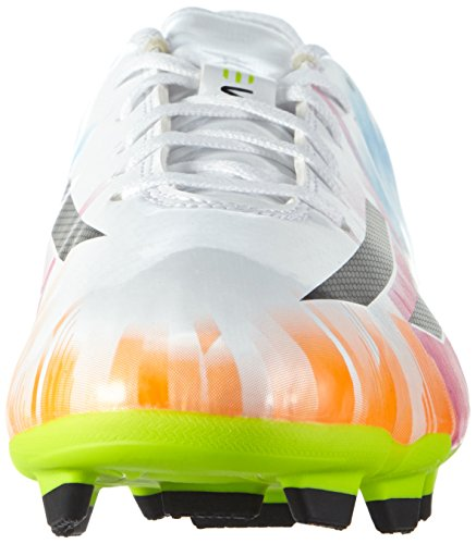 adidas , Chaussures de foot pour homme Blanc - Running White/Black/Solar Slime