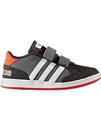 Adidas - Hoops Cmf C - AQ1656 - Farbe: Weiß-Grau-Orangefarbig - Größe: 28.0 Gepg37dR