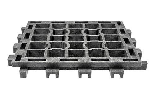 Land-Grid 30m² XT45 Paddockplatten ohne Unterbau Paddockplatte Rasengitterplatten 20,99€/m²