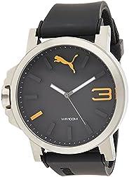 Puma Men's Watch, Black, PU10346