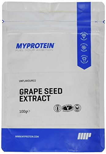 Myprotein Grape Seed Extract 95% OPC (Traubenkernextrakt), 1er Pack (1 x 100 g)