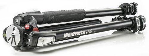 Manfrotto-MT055XPRO3-Treppiede-055-Colonna-90-3-Sezioni-Alluminio-Nero