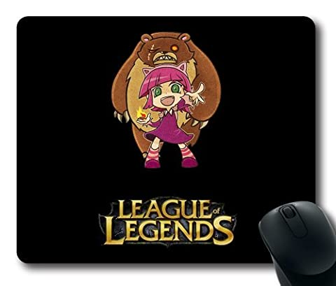 Annie, the Dark Child-3 Mouse Pad, Customized Rectangle The Game League of Legends Mousepad Diy By Bestsellcase