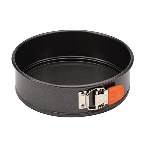 Rachael Ray Oven Lovin' Nonstick Bakeware 9-Inch Springform Pan, Orange
