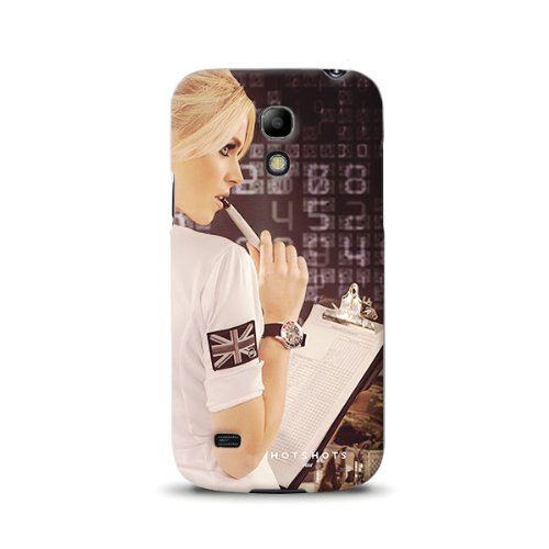 Diabloskinz D0105-0064-0029 komplett bedruckte Schutzhülle für das Samsung Galaxy S4 Mini - Agent Dani (Agent-aufkleber)