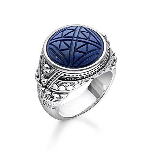 Thomas Sabo Herren-Ringe 925_Sterling_Silber mit \'- Ringgröße 52 TR2204-534-1-52