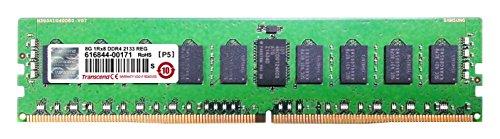 TRANSCEND DIMM DDR4 2133Mhz 8GB Reg ECC SRx4 1.2V CL15 (Pc Reg 8gb)
