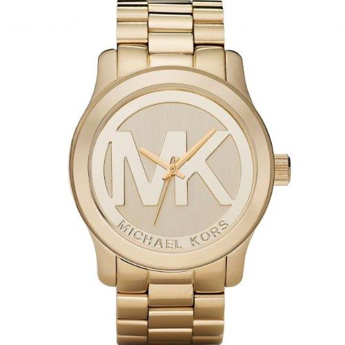Michael Kors Montre bracelet Mixte, Plaqué Or, couleur: doré