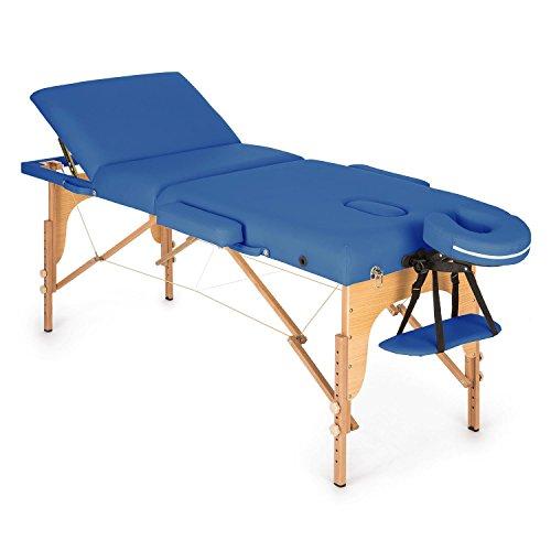 Klarfit MT 500 Camilla de masajes plegable 210cm...