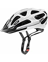 Uvex Supersonic CC Cycling Helmet, 05White Matt (Size: 52-57cm)