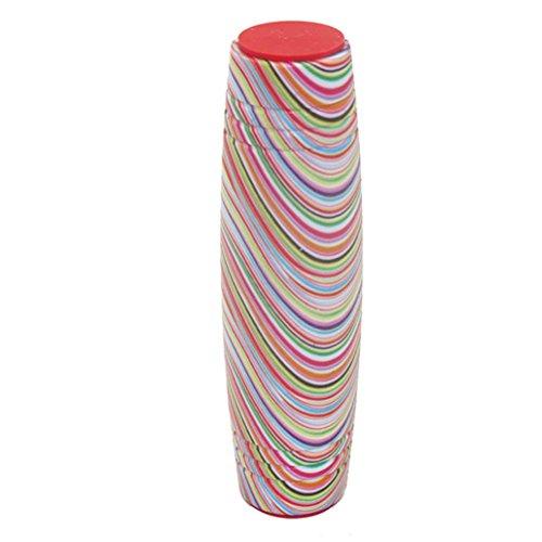Transer® Toys for Kids- Camouflage Fun Rollver Desktop Release Anxiety Stress Flip Stick- Improve Focus Fidget Toy (C)