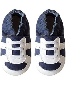 Rose & Chocolat Runner Navy, Zapatillas de Estar por Casa para Bebés