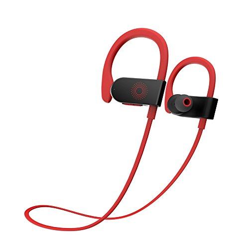 dodocool Bluetooth Kopfhörer, In Ear Wireless Ohrhörer, Stereo Sport Kopfhörer, CVC 6.0 Geräuschunterdrückung, 8 Stunden Spielzeit, IPX5 Wasserdicht Headset mit HD Mikrofon für iPhone iPad Samsung oder - Bluetooth-wireless-stereo-headset