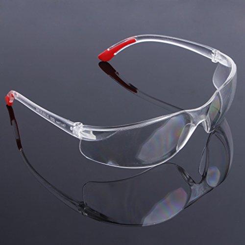 Weishazi Schutzbrille für Motorrad, Antibeschlag-Brille durchsichtig