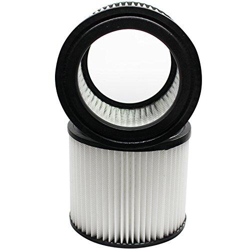 2er Pack Ersatz VAC Wandhalterung 394-20-00Vakuum Patrone Filter-Kompatibel VAC 90398Cartridge Filter -