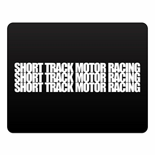 Eddany Short Track Motor Racing three words - Plastic Acrylic