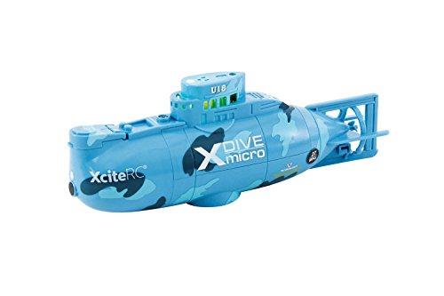 XciteRC 42002000 - Ferngesteuertes RC U-Boot X-Dive U-18