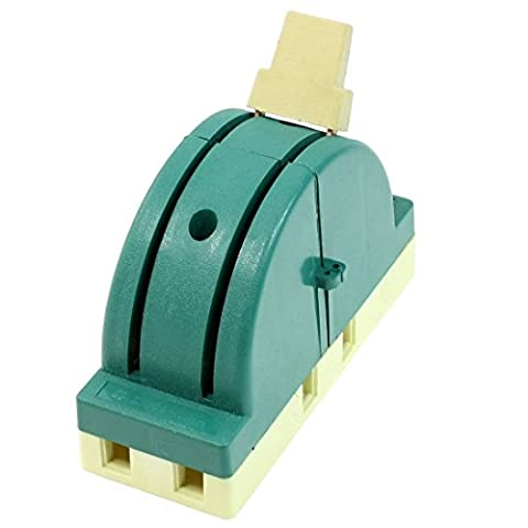 AC 250 V 63 A 2 Pole Double Throw Knife Disconnect Switch Green
