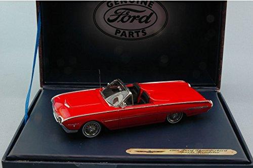 FORD THUNDERBIRD SPORT ROADSTER 1962 RED 1:43 Ford Genuine Parts Auto Stradali modello modellino die cast