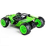 LIUQIAN Fernbedienung Auto 01:16 Geschenk-high-Speed Langlauf sportlich Klettern Ladestation Bigfoot Racing Green Kind Junge Auto Spielzeug 11 0 * in 7,5 * 3,5