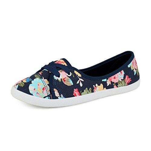 best-boots Ballerine Sneakers Sneaker scarpe da ginnastica Textil Blau/Bunt