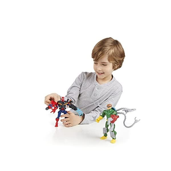 Marvel Super Hero Mashers Spider-Man vs. Doc Ock Mash Pack 4
