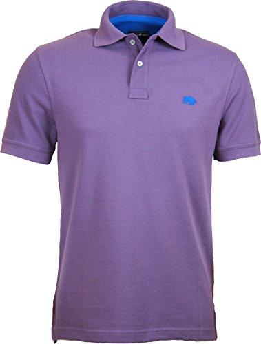 Raging Bull New Signature Poloshirt, Herren M violett