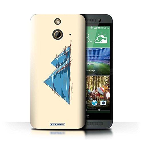 Kobalt® Imprimé Etui / Coque pour HTC One/1 E8 / La porte de Torii/Japon conception / Série Monuments Pyramides