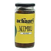 The Achaari Nimbu Red Chilli Homemade Lemon Pickle, 400 Grams