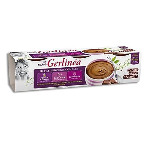 gerlinéa Crème au chocolat, riches en protéines, repas minceur ( Prix Unitaire ) - Envoi Rapide Et Soignée
