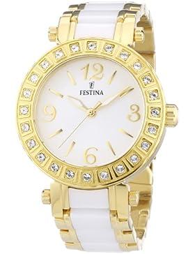 Festina Damen-Armbanduhr Analog Quarz verschiedene Materialien F16644/1