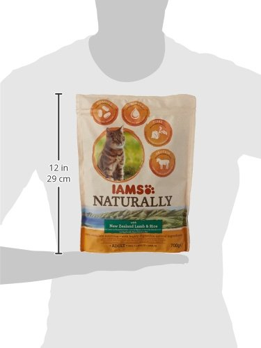 8in1 Iams Naturally Lamb Cat Food Dry Food for Cats with Natural Ingredients Sizes 7