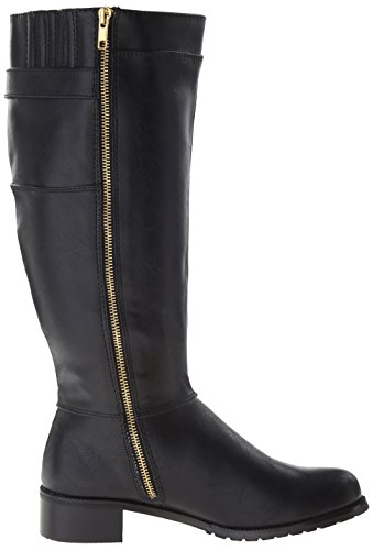 Bella Vita Anya II Plus Wide Calf Synthétique Botte Black