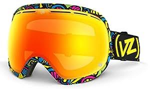 Masque Snowboard Vonzipper Fishbowl Shroom Psy / Fire Chrome