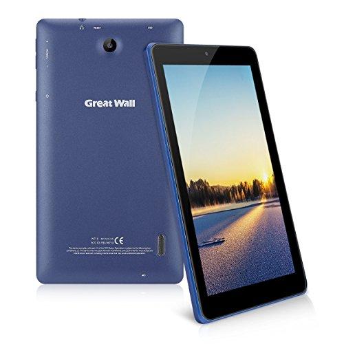 7 Zoll Android 8.1 Tablet PC - Great Wall W710 (1024 * 600 Pixel, 1GB RAM 8GB ROM, Dual Kameras, RK3126C Quad Core, Wifi) Blau