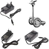Hergon 24V 500mA Universal-Ladegerät, 90-240V Intelligenten Netzteil für Mini Smart Elektro Scooter