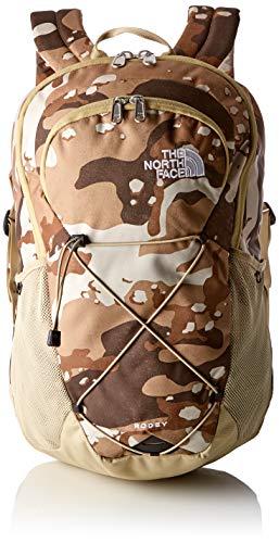The north face rodey zaino, unisex - adulto, grigio (moab khaki woodchip camo desert print/twill beige), taglia unica