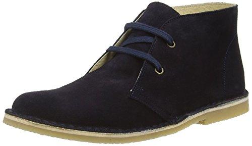 Start-riteColorado II - Stivali Desert Boots Unisex per bambini, Azul - Blue (Dark Navy Suede), 36 EU