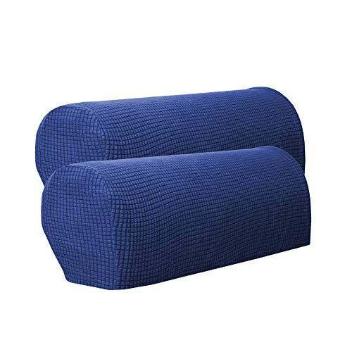 Homeofying 2 Stück Möbel-Armlehnenbezug Couch Stuhl Arm-Matte Abnehmbarer Schutz Slip Cover für Stuhl, Liebe, Sofa grün -