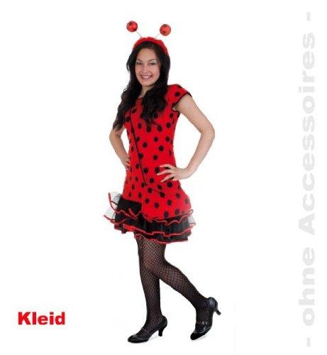 Marienkäfer Lady Bug 152 PLÜSCH Mädchen Kostüm Teeny Line Mädchenkleid (Mädchen Bug Lady Kostüme)