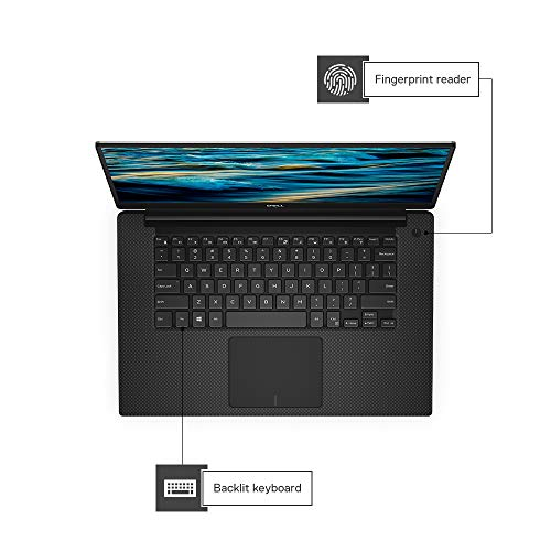 "Dell XPS 9570 15.6-inch FHD Infinity Edge Display Laptop (eighth Gen-Core i7-8750H/16GB/512 GB SSD/Windows 10 + Ms Office H&S""16/ Nvidia GeForce GTX 1050Ti 4GB Graphics), Silver Image 3"