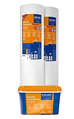 Preisvergleich Produktbild ERFURT 2 Rollen KlimaTec Thermovlies Premium + Kleister