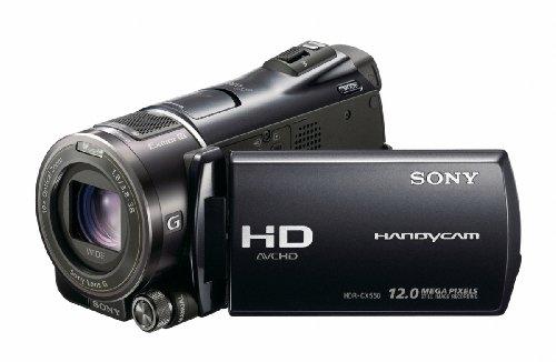 Sony HDR-CX550VEB Full HD Camcorder (Flash, 10 fach optischer Zoom, 8,8 cm (3,5 Zoll) Display, EXMOR R Sensor, 64 GB interner Speicher) schwarz (Flash-speicher-camcorder)