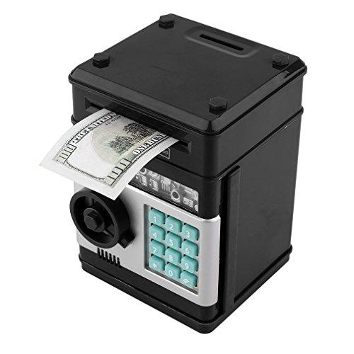 Geld Sicherheit Safe Bank ATM mit Passwort Multi-Taste Elektronische Anzahl Bank-Piggy Bank ATM Mini Coin Banks Geschenke für Kinder Kinder für Geburtstags-Geschenke -