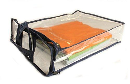 Ch.Cabanski Aufbewahrungstasche für Bettdecken Decken Kissen Tagesdecken Kleidung Tasche (Bettdecke Bett-tasche)