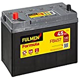 fulmen batterie voiture fb501 12v 50ah 450a batterie s fb501 eb501. Black Bedroom Furniture Sets. Home Design Ideas